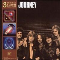 JOURNEY - ORIGINAL ALBUM CLASSICS (DEPARTURE,ESCAPE,FRONTIERS)  3 CD NEU