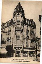 CPA  N. C. - Un bon coin de Roanne - Les Magasins du Pont-Neuf   (225463)