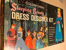 Vtg 1959 COLORFORMS Walt Disney's Sleeping Beauty Dress Kit