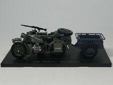 Atlas 1:24 SS18-BMW R75 panzerfaust 30 Diecast model