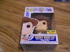New listing Funko Pop Disney Toy Story 4, Sheriff Woody, Hot Topic Exclusive, #535, Nib