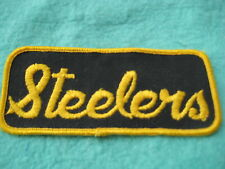 "Vintage Pittsburg Steelers Football Team Patch 4 7/8 "" X 2"""