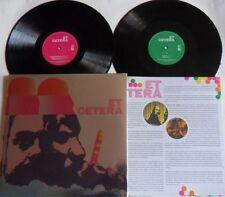 LP ET CETERA Et Cetera - (2LP) LONG HAIR MUSIC LHC106/107 - STILL SEALED