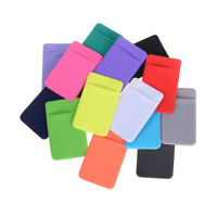 Elastic Mobile Phone ID Card Holder Wallet Credit Pocket Adhesive Sticker FD