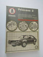 VINTAGE LEYLAND PRINCESS 2 1978-79 Car Owners Workshop Manual Book free uk p&p