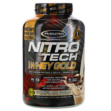 Muscletech  Nitro Tech  100  Whey Gold  Cookies and Cream  5 53 lbs  2 51 kg