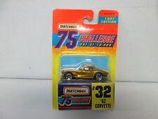 Matchbox 75 Challenge 1962 Corvette #32