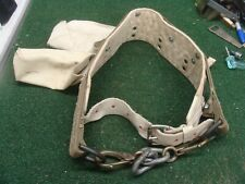 Lineman's small Belt With Climbing Rope Vintage