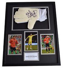 Keiren Westwood Signed FRAMED Goalkeeper Glove HUGE photo display Rep of Ireland