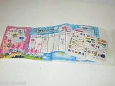 SAILOR MOON JAPANESE ANIME STICKER SHEET DRESS FOR DAYS OF THE WEEK JAPAN