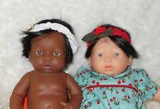 Monique~Teeny Weenie~Human Hair Doll Wig~Size 6/8~BLACK ~ Retail $16~NO TAG