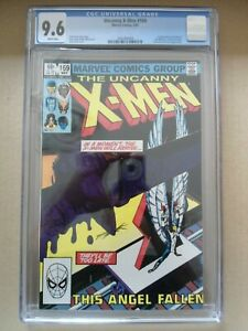 X-MEN  #169 CGC 9.6 - WHITE PAGES - FREE SHIPPING - 1ST APP CALISTO AND MORLOCKS