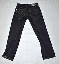 A5 Auth LEVIS ENGINEERED JEANS Mens The Leg Twist Dark Blue Denim Jeans Size 32