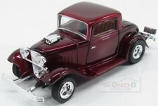 Ford Usa Coupe Custom 1932 Red Met MotorMax 1:24 MTM73251RM