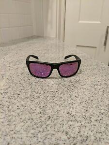Native Eyewear Ashdown Matte Black Violet Reflex