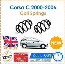 For Vauxhall Corsa C 1.0 1.2 SXI Twinport 2000-2006 Pair Two Rear Coil Springs