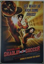 Shaolin Soccer Ds Rolled Adv Orig 1Sh Movie Poster Stephen Chow Comedy (2001)