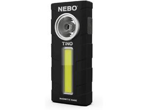 Linterna Nebo TiNO NB6809, 250-300 lúmenes, Pilas AAA (incluidas), IPX4, Negro