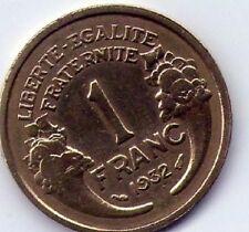1 Francs morlon 1932 bronze/alu