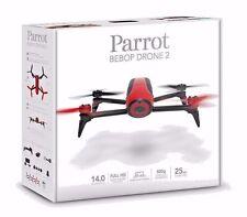 Parrot Bebop Drone 2 Rot Quadcopter Rc Fahrzeug mit HD Kamera Neu