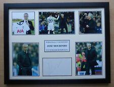 2019-20 Jose Mourinho Signed Tottenham Hotspur Multi Picture Display (16705)