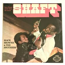Isaac Hayes' Music From The Movie SHAFT - Mack Browne & The Bros 1971 Album VG+