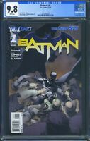 Batman 1 (DC) CGC 9.8 White Pages 1st print 1st cameo appearance of Harper Row
