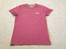 Superdry Men's Tee Shirt Deep Pink  Size  Adult Medium  (M2)