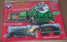 Lionel new 7-11097 Crown Express G-gauge, battery power