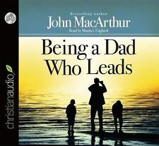 Being a Dad Who Leads by John MacArthur (English) Compact Disc Book