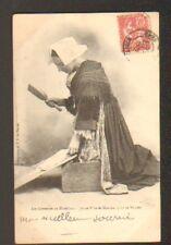 MEUCON prés de VANNES (56) LAVANDIERE / Costume en 1904