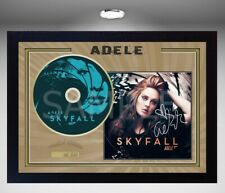 Adele Skyfall Music SIGNED FRAMED Preprinted PHOTO CD Disc