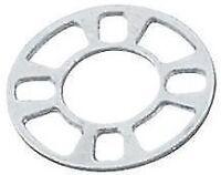 4x 3mm Universal Wheel Spacers - Fits 4x98 4x100  5x100, 5x110, 5x114.3, 5x112*