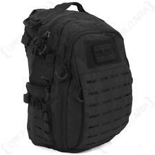 Hextac Black Rucksack - Military Army Backpack Bag Hiking Camping 25L Mens New