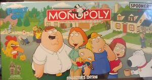 2006 Parker Brothers Family Guy Monopoly Board Game Complete NEW, Collector's Ed