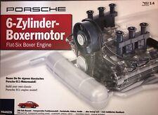 6-Zylinder-Boxermotor Porsche 911 Bausatz Funktionsmodell 1:4 Franzis NEU µ *HW1