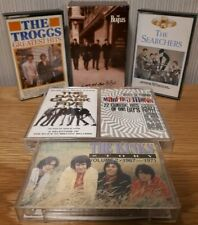 Job Lot Cassette Tapes (6) - Various Artists - 60s Groups inc Beatles, Kinks