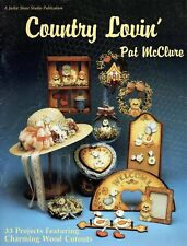 Tole Painting Country Lovin' by Pat McClure Bunny Chicken Cottage Welcome Ducks