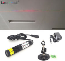 Waterproof 650nm 658nm 50mw Red Laser Line Module Diode 18x100mm + adapter+mount