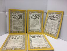 Lot: The National Geographic Magazine (1) 1941 (4) 1950s
