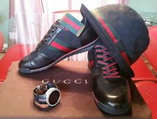 Authentic Gucci shoes mens 237715 size 9g 10us, gucci sneakers mens