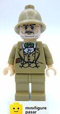 iaj030 Lego Indiana Jones 852504 - Henry Jones Sr. Dark Tan Helmet Minifigure