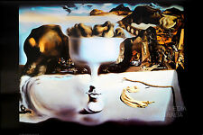 (LAMINATED) SALVADOR DALI - APPARITION OF FACE & FRUIT DISH POSTER (61x91cm)