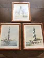 Framed North Carolina Lighthouse Prints