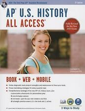 AP U.S. History All Access Book + Online + Mobile Advanced Placement AP) All A