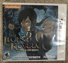 Legend of Korra: A New Era Begins (Nintendo 3DS, 2014) Brand New Factory Sealed