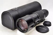 *Mint* Pentax M SMC 400 mm F/5.6 PK MF Lens w/ Hard Case From Japan #931