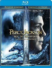 PERCY JACKSON: SEA OF MONSTERS BLU RAY Movie-Brand New Fast Ship!(HMV-371/HMV-57