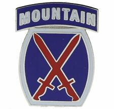 US Army 10th Mountain Division Light Infantry Hat or Lapel Pin H15391D61