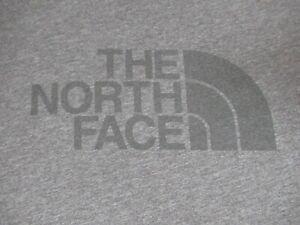 The North Face Classique Noir Logo - Gris XXL 2XL T-Shirt F1491